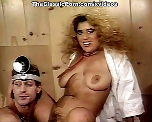 Nina hartley, nina deponca, jerry butler in classic sex video