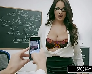 Naughty french teacher anissa kate can't live without anal