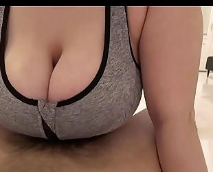 Sportsbra tittyfucking