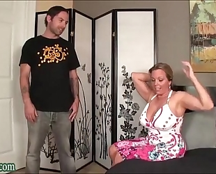 Boy fucking not his mommy massive wobblers milf