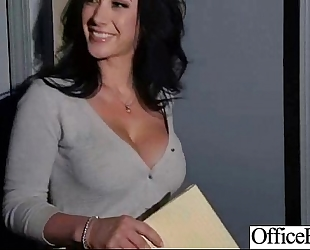 Sexy excited BBC slut (jayden jaymes) with large mangos riding dick in office movie-18