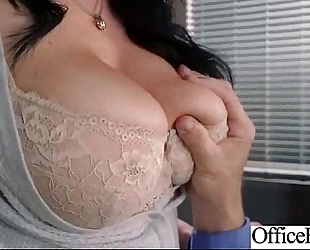 (jayden jaymes) office wife with large milk cans gangbang in hard style act vid-24