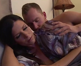 Upset mother calmed by stepson - greater quantity clips on www.amateurcams.cf