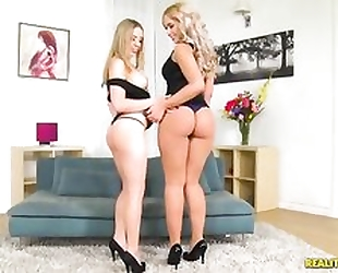 Blonde hotties from Russia take intense pussy pounding