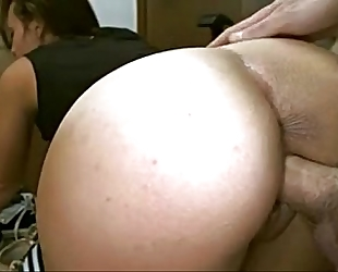 Cute milf with nice-looking round arse (amateur, homemade, pussyfucking, cumface)
