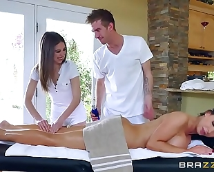 Brazzers.com - nikki riley - smutty masseur