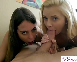 Princesscum - my hawt sisters will do everything for my cum