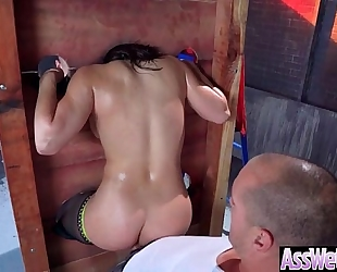 Deep anal sex on tape with large curvy gazoo concupiscent dirty slut wife (abella danger) vid-02