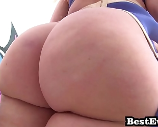 Phat a-hole white cuties most excellent of anal screw super wench mashup