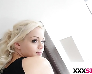 Blonde stepsis elsa jean receives screwed