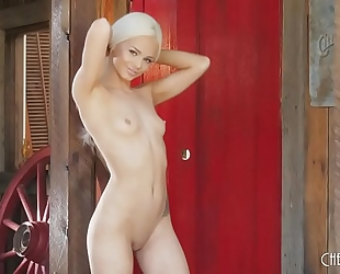 Next door sweethearts elsa jean masturbates