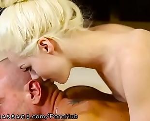 Elsa jean highly fleshly nuru massage