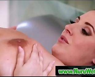 Nuru soaked massage for 10-Pounder - pennypax & angela white