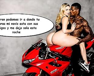Mia malkova - interracial en motocicleta