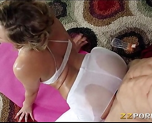 Juicy ass mia malkova drilled up admirable with her yoga coach