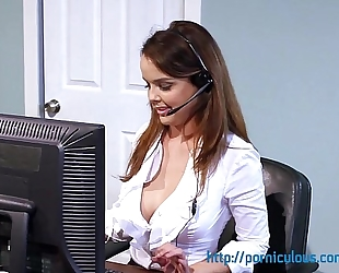 Big mounds at work - compilation - amia miley, dillion harper, and greater quantity...