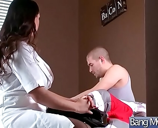 Hardcore sex betwixt doctor and wench lewd patient (alison tyler) video-03