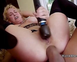 Milf acquires anal fist and cookie fuck