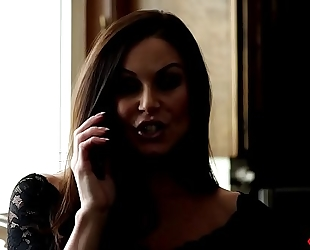 Karlie montana, kendra craving glam lesbo licking