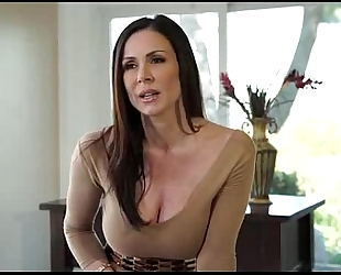 Hot dark brown milf with large love muffins drilled