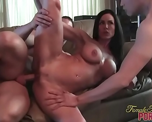 Kendra craving receives screwed and muscle worship
