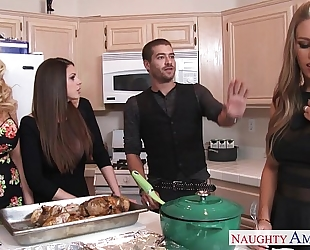 Hot gals brooklyn follow, nicole aniston and summer brielle receives nailed